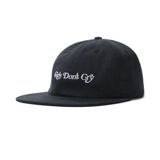 Supreme - GIRLS DON'T CRY   GDC 6 PANEL CAP  BLACK