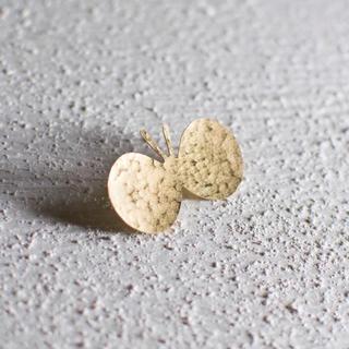 mina perhonen - [新作]真鍮ブローチ 小さなちょうちょ ハンドメイド オリジナル ミナペルホネン