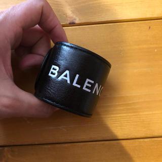 バレンシアガ(Balenciaga)のバレンシアガ  ロゴバングル BALENCIAGA(ブレスレット/バングル)