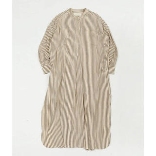 TODAYFUL - 新品未開封♡Stripe shirt dress エクリュ 36♡