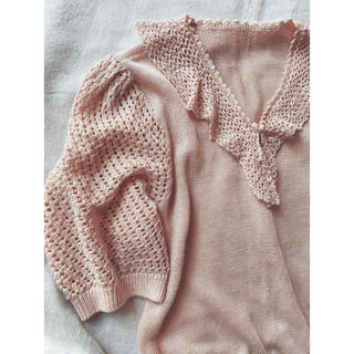EDIT.FOR LULU - Crochet knit