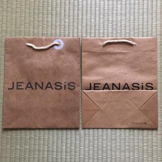 ジーナシス(JEANASIS)の【中古品】JEANASiS*ショップ袋(ショップ袋)