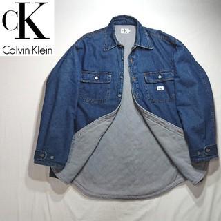 カルバンクライン(Calvin Klein)のCalvin Klein Jeansカルヴァンクライン 中綿 デニム コート(Gジャン/デニムジャケット)