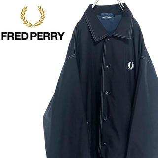 FRED PERRY - 【激レア】フレッドペリー☆ワンポイントロゴ刺繍ナイロンコーチジャケット