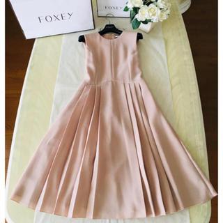 FOXEY - フォクシー  pleats dress  プリーツドレス ワンピース