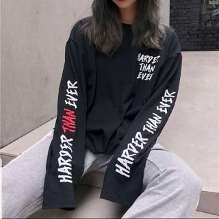 新品未使用 男女兼用 ユニセックス ストリート系 ロングスリーブ 長袖 ロゴT(Tシャツ(長袖/七分))