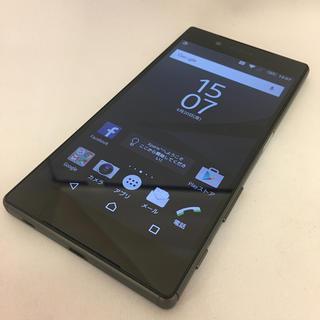 ソニー(SONY)のソフトバンク Xperia Z5 501SO ブラック 美品 (9-25)(スマートフォン本体)