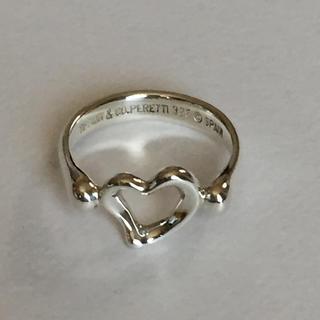 ティファニー(Tiffany & Co.)のティファニー オープンハート リング(リング(指輪))