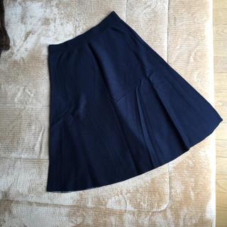 MUJI (無印良品) - 無印良品 紺のスカート