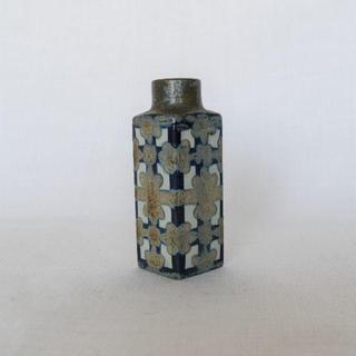 ロイヤルコペンハーゲン(ROYAL COPENHAGEN)の【ヴィンテージ】ロイヤルコペンハーゲン バッカ スクエアベース/花器/花瓶(花瓶)
