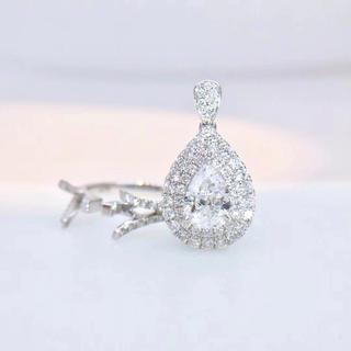両用タイプ1カラットGia付き婚約指輪(リング(指輪))