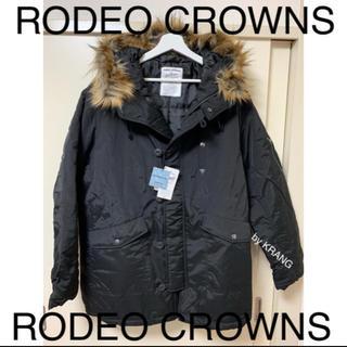 ロデオクラウンズワイドボウル(RODEO CROWNS WIDE BOWL)のRODEO CROWNS ダウンジャケット ダウンコート ファー(ダウンジャケット)