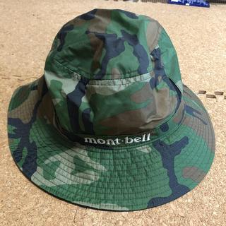 モンベル(mont bell)の帽子(ハット)