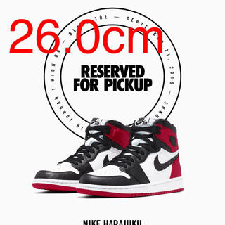 NIKE - NIKE AIR JORDAN1 BLACK TOE WMNS 26cm