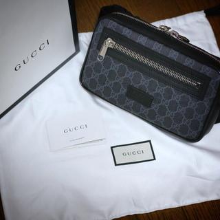 Gucci - GUCCI GGスプリーム ベルトバック