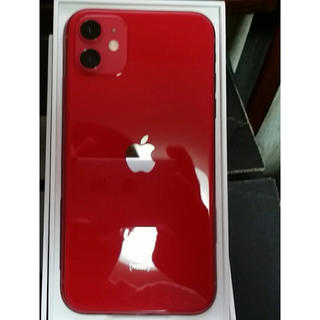 iPhone - 最新モデル RED  iPhone 11  128GB  新品 simフリー