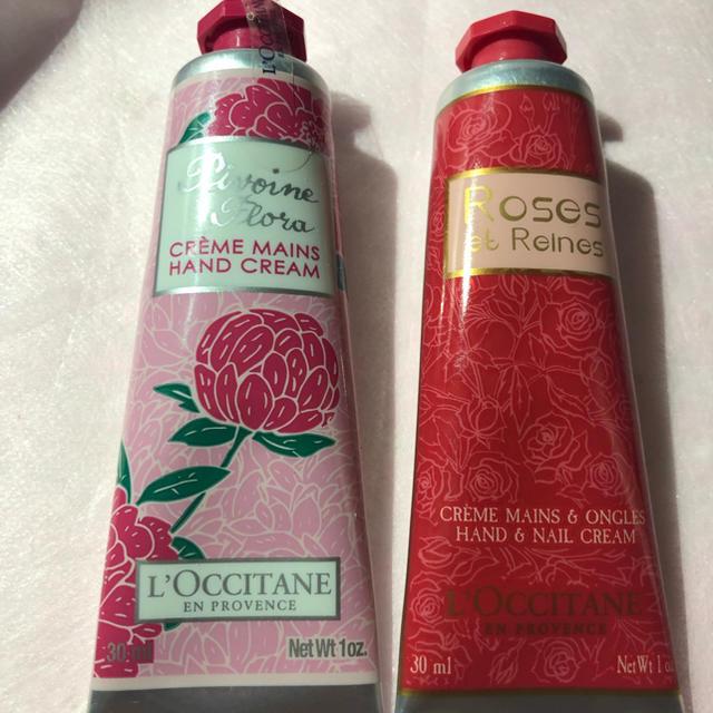 L'OCCITANE(ロクシタン)のロクシタン 外箱無しローズベルベット・ピオニーフェアリー等ハンドクリーム30ml コスメ/美容のボディケア(ハンドクリーム)の商品写真