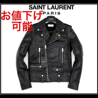 Saint Laurent - 新品タグ付きサンローランパリ L01ダブルライダース エディ期 16AW 42