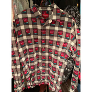 Supreme - Supreme Rose Buffalo Plaid Shirt S