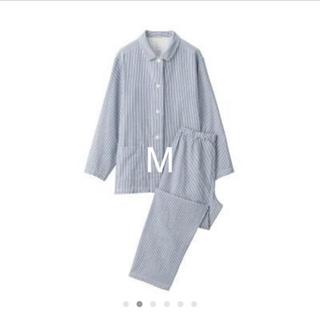 MUJI (無印良品) - 脇に縫い目のない 二重ガーゼ パジャマ・婦人M