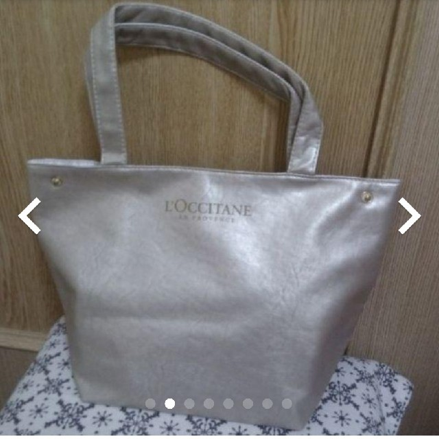 L'OCCITANE(ロクシタン)のロクシタン トートバッグ コスメ/美容のスキンケア/基礎化粧品(リップケア/リップクリーム)の商品写真