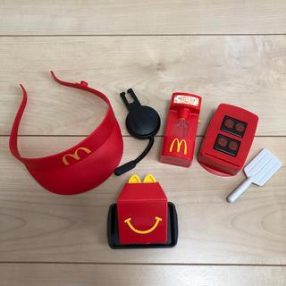 マクドナルド(マクドナルド)のハッピーセット  なりきりマクドナルド   4種類(その他)