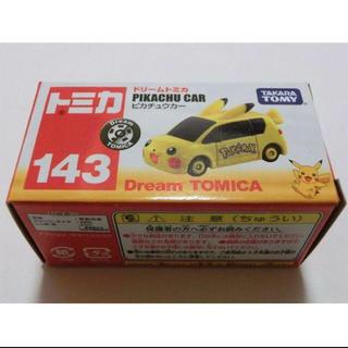 ポケモン - ポケモンxトミカ ピカチュウカー143 ドリームトミカ