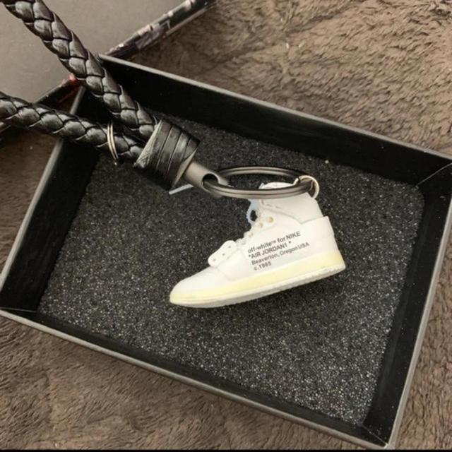 NIKE(ナイキ)のAJ1 Air Jordan 1 Nike×Off-white キーホルダー  メンズの靴/シューズ(スニーカー)の商品写真