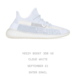 adidas - adidas yeezy boost 350 v2 cloud white