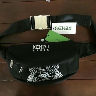 ケンゾー(KENZO)の人気品 KENZO 激レア*モノグラムバムバッグ ブラック(ボディーバッグ)