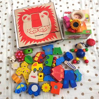 familiar - 美品☆ネフ社 HABA 木のおもちゃセット