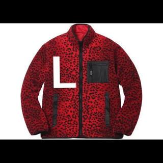 Supreme - supreme leopard fleece L