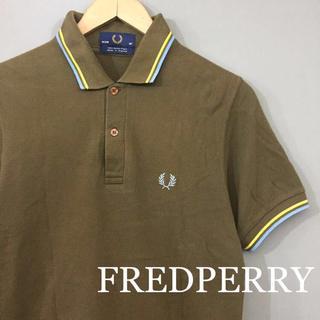 FRED PERRY - 【英国製】フレッドペリー FREDPERRY ポロシャツ 半袖 鹿の子 ブラウン