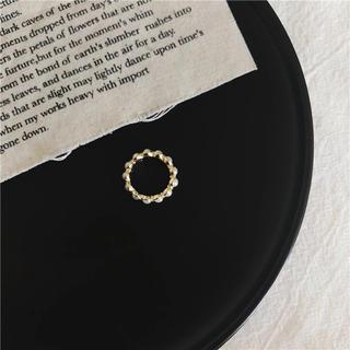 リリーブラウン(Lily Brown)の新品 パール シンプル レトロ ヴィンテージ 上品 真珠 レトロ 指輪 リング(リング(指輪))