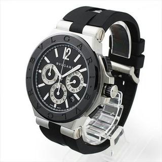 ブルガリ(BVLGARI)のブルガリ ディアゴノ セラミック DG42BSCVDCH 新品 メンズ 腕時計(腕時計(アナログ))