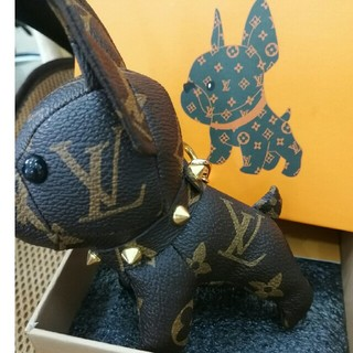 LOUIS VUITTON - Louis Vuitton ルイヴィトン 可愛い犬 アクセサリー キーホルダー