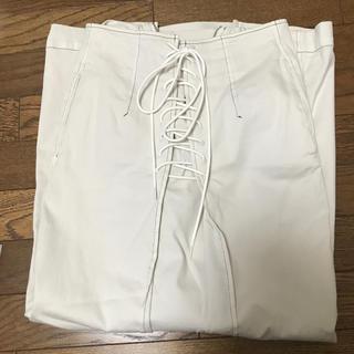フレイアイディー  レースアップタイトスカート