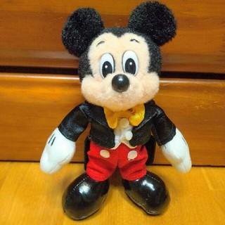 TDR35周年 ヒストリーアートデザイン ミッキーマウス ぬいぐるみバッジ