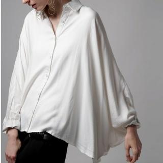 antiqua - アンティカantiqua 変形デザインシャツ 白