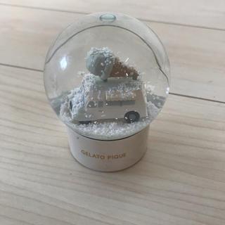 ジェラートピケ(gelato pique)のジェラートピケ スノードーム(置物)