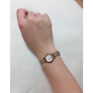 ヨンドシー(4℃)の4℃ 腕時計 美品 ピンクゴールド (腕時計)