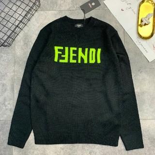 FENDI - お勧め FENDI 個性ロゴ セーター