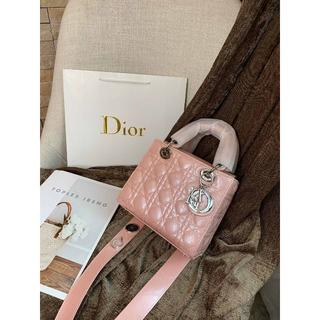 Dior - DIOR ショルダーバッグ ハンドバッグ 可愛い ピンク