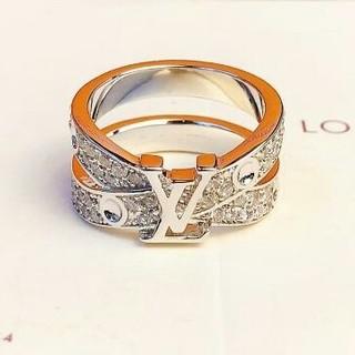 ルイヴィトン(LOUIS VUITTON)の極美品LV  ルイヴィトン リング指輪 正規品(リング(指輪))