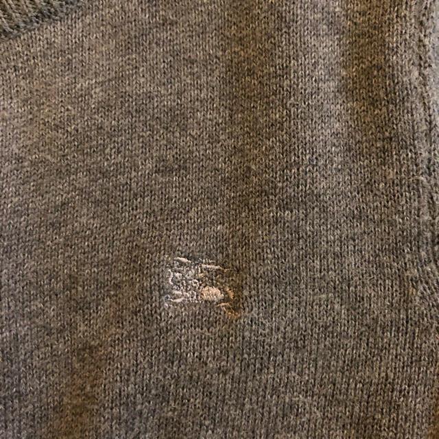 BURBERRY(バーバリー)のバーバリー BURBERRY グレー カーディガン 100 男の子 女の子 キッズ/ベビー/マタニティのキッズ服 男の子用(90cm~)(カーディガン)の商品写真