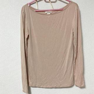 エイチアンドエム(H&M)のH&M カットソー ピンク(Tシャツ(長袖/七分))