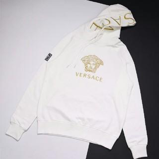 VERSACE - ヴェルサーチ Versace パーカー 刺繍