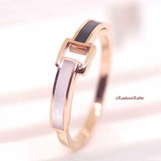 指輪 18K RGP ゴールド 貝殻石 上品 リング gu1386e(リング(指輪))
