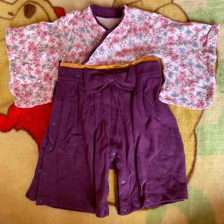 ベルメゾン(ベルメゾン)のゆん様 ご購入予定 袴ロンパースのみ(和服/着物)