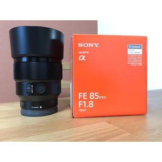 SONY - 使用回数 数回! SONY SEL85F18 85mm f1.8 単焦点
